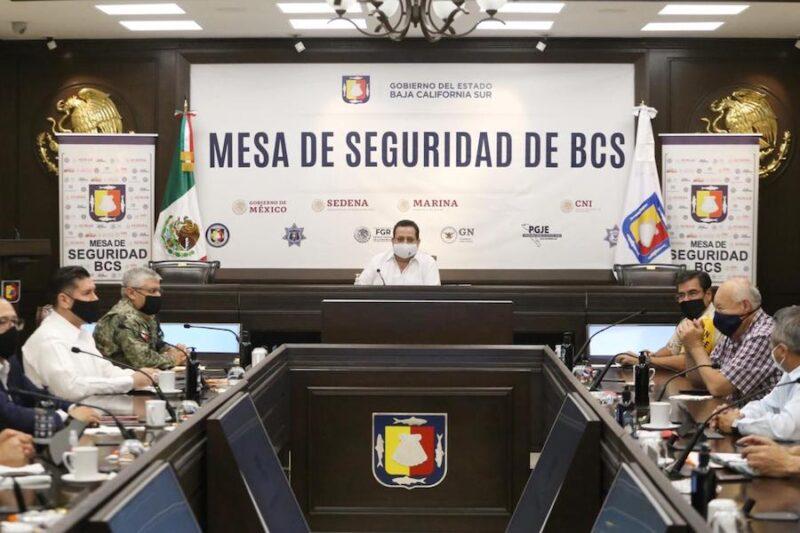 REFORZARÁ MESA DE SEGURIDAD ACCIONES PREVENTIVAS POR CONTINGENCIA SANITARIA