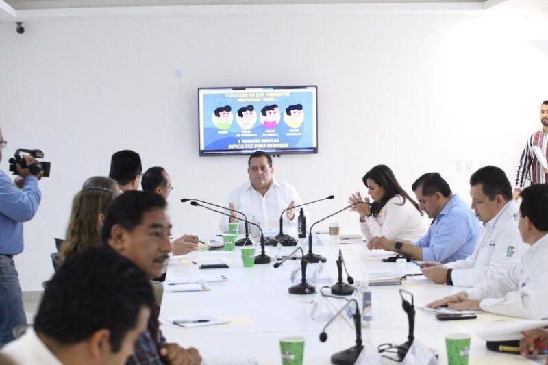PRESIDE GOBERNADOR REUNIÓN DEL CONSEJO ESTATAL DE SALUD
