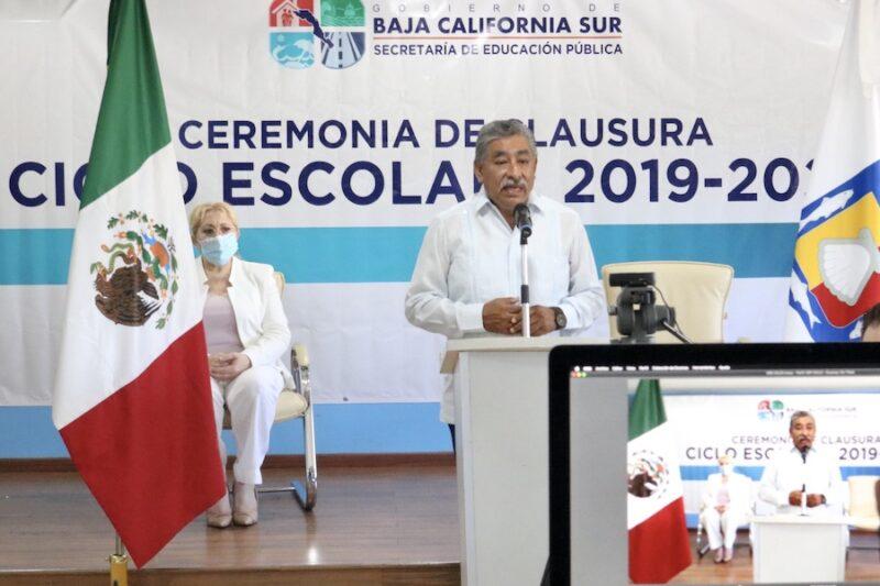 EN CEREMONIA VIRTUAL SEP CLAUSURA DE MANERA OFICIAL EL CICLO ESCOLAR 2019-2020