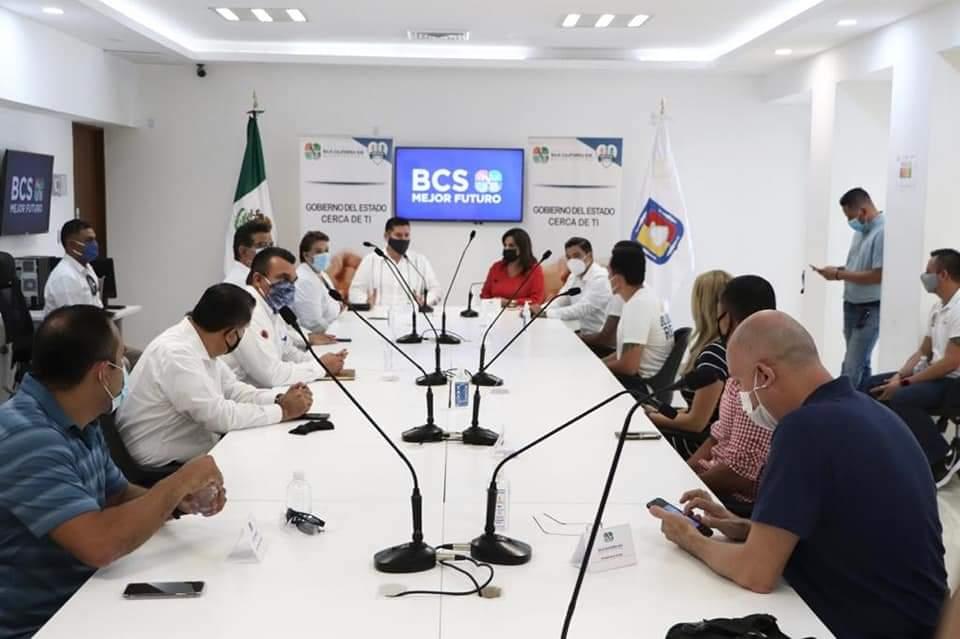 ATIENDEN GOBIERNO ESTATAL Y MUNICIPAL A REPRESENTANTES DE GIMNASIOS Y DEPORTISTAS EN LOS CABOS