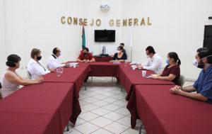 DESARROLLARÁN ESQUEMAS SANITARIOS PARA PREVENIR EL COVID-19 EN ACTIVIDADES ELECTORALES