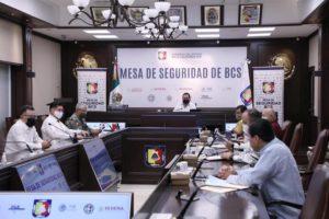 ACUERDA MESA DE SEGURIDAD COORDINACIÓN CON AUTORIDADES SANITARIAS