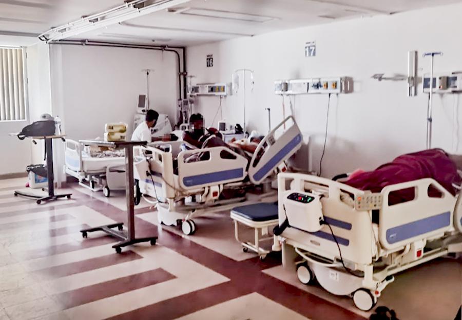 SALUD ESTATAL LLEVÓ A CABO LA DESCONVERSIÓN DE ESPACIOS EN EL HOSPITAL DE CABO SAN LUCAS