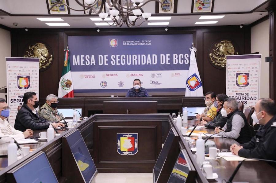 REFORZARÁ MESA DE SEGURIDAD ESTRATEGIA DE PREVENCIÓN DEL DELITO EN BCS