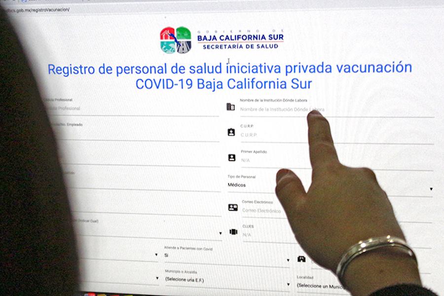 CENSA GOBIERNO ESTATAL AL PERSONAL DE SALUD PRIVADA PARA RECIBIR VACUNA CONTRA COVID