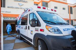 REFUERZA GOBIERNO ESTATAL LA ATENCIÓN DE PACIENTES COVID CON PROTECCIÒN DE SALUD HOSPITALARIA