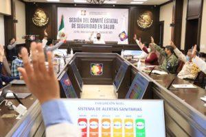 DECIDE COMITÉ DE SEGURIDAD EN SALUD PERMANECER EN EL NIVEL 3 DEL SISTEMA DE ALERTAS SANITARIAS