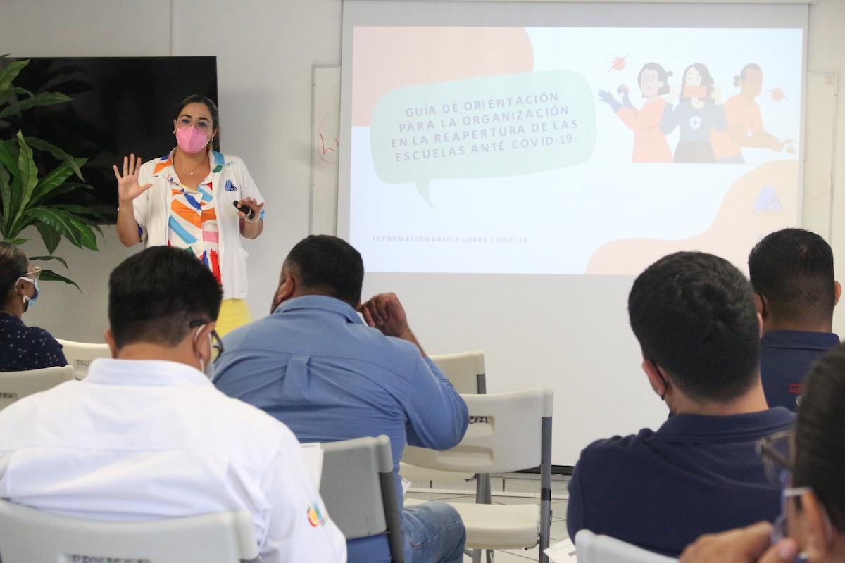 PROMOTORES DE SALUD ESTÁN PREPARADOS PARA CAPACITAR A COMUNIDADES ESCOLARES EN MEDIDAS PREVENTIVAS