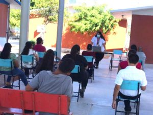 FOMENTA SALUD ESTATAL MEDIDAS PREVENTIVAS EN PLANTELES EDUCATIVOS